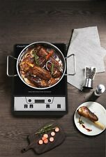 1500W Induction Cooktop Temperature style cooker Black Burner stove