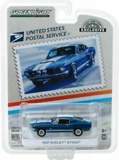 Greenlight 1/64 1967 Shelby Gt500 Usps America On The Move Hobby Exclusive 30067