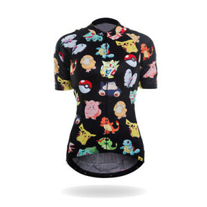 Women's Pokemon Cycling Jersey