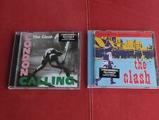 2 X CD The Clash-London Calling/Super Black Market Clash Columbia