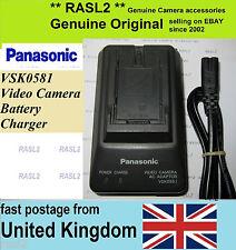 Original Panasonic VSK0581 Charger CGR- D120 D220 D320 D28 D08 CGA-D54 AG-DVX100