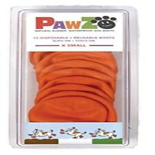 "Pawz Orange Water-Proof Dog Boot, X-Small, Up To 2"" Pet Waterproof Made In The"