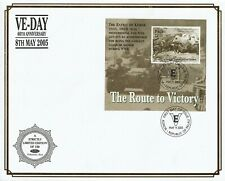 PALAU 9 MAY 2005 VE DAY ANNIVERSARY M/SHEET O/S VLE FIRST DAY COVER