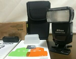 [ALMOST MINT w/ FULL SET] Nikon SB-800 Speedlight Shoe Mount Flash From JAPAN