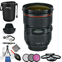Canon EF 24-70mm f/2.8L II USM Lens!! PRO BUNDLE USA MODEL BRAND NEW!!