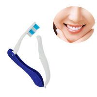 2 X TRAVEL Tragbar Mini Klappbar Reisezahnbürste Zahnbürste-Antibakteriell s