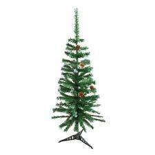 ALEKO Artificial Christmas Tree with Decorative Pine Cones Indoor Decor 4 Ft