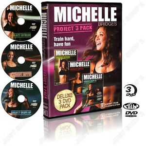 Michelle Bridges Project 3 Extreme / Ripped / Shape-Up : Brand New Exercise DVD