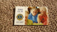 2017 IRELAND POST MINT STAMPS, IRELAND CENTENARY OF THE LIONS CLUB STAMP MNH