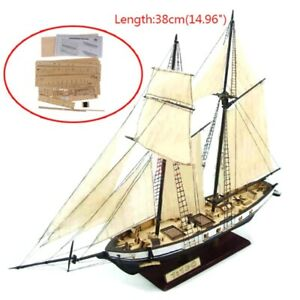 New 1:130/100/70/30 Sailing DIY Ship Assembly Model Classical Wooden Boat Wood