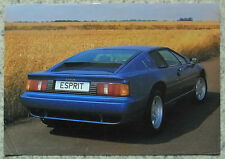 LOTUS ESPRIT S Car Sales Specification Leaflet 1991