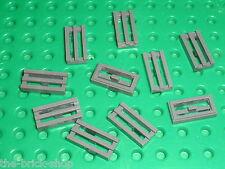 LEGO 10 DkStone grilles ref 2412b / Set 10179 10188 7783 10178 10174 10144 4504