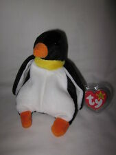 LUCKY and WADDLE TY BEANIE BABIES MWMT P.V.C. PELLETS