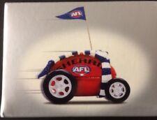AFL FOOTBALL MELBOURNE DEMONS FOOTY RACER CAR...NEW... FREE POSTAGE