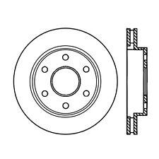 Centric Parts 120.6604 Front Premium Brake Rotor