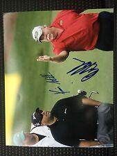 Craig And Kevin Stadler Signed Pga Tour Golf 8 X 10 Photo Masters 2014Autographe