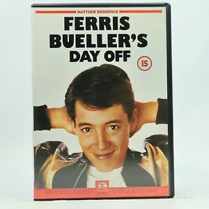 Ferris Bueller's Day Off Matthew Broderick DVD R2 R4 GC Free Tracked Post