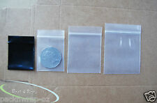 Extra Small Zip Lock Bags thick resealable plastic sample food packaging mini