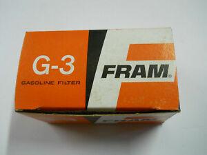 Fram Fuel Filter 3/8 in. Barb Inlet / 3/8 in. Barb Outlet G3