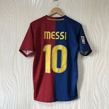 BARCELONA 2008 2009 HOME FOOTBALL SHIRT JERSEY NIKE 286784-655 MESSI #10