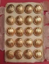 UAR Syria Egypt 1958-1962 military Army 20 buttons pins set IWW Paris France