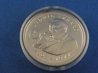 Medaille Ludwig Erhardt (1897-1977)  333er Silber 15g (Box 3)