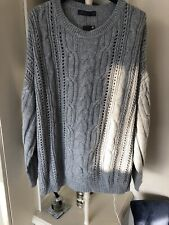 Marks And Spencers Grey Winter Jumper New Size 24