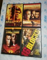 4 DVD Lot Action Movies Basic The Sum Of All Fears 16 Blocks Legends Of The Fall