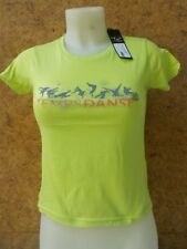Solde- Tee shirt à  manches courtes fille, TEMPS DANSE -Lio - vert en 6/8 ans