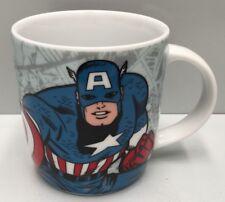 "DC COMICS JUSTICE LEAGUE "" CAPTAIN AMERICA "" 370ML CERAMIC COFFEE CUP"