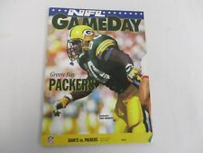 NOV 8, 1992 NEW YORK GIANTS vs GREEN BAY PACKERS TONY BENNETT GAME DAY PROGRAM