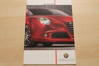 75062) Alfa Romeo MiTo Prospekt 07/2011