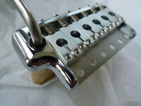 PRS Style Tremolo Bridge Complete Install Kit Fit Vintage Guitar ---CHROME