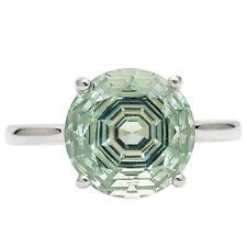 Prasiolite (Green Amethyst) 925 Sterling Silver Ring Jewelry s.8.5 RR76523