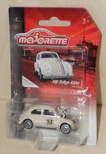 VW RALLYE KÄFER (Herbie / The Love Bug) MAJORETTE Vintage Oldtimer bewegl. Haube