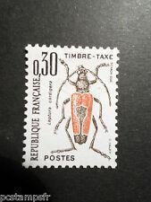 FRANCE 1983, timbre TAXE 109, INSECTES, LEPLURA CORDIGERA, neuf**, TAX MNH
