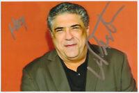 Vincent Pastore - The Sopranos - hand signed Autograph Autogramm