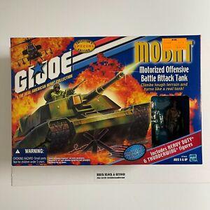 """2000 Hasbro GIJOE 3.75"""" ARAH MOBAT with Heavy Duty & Thunderwing New Sealed"""