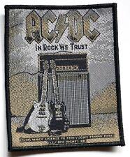 AC/DC - In Rock We Trust - Woven Patch / Aufnäher