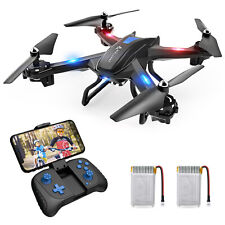 SNAPTAIN Drohne 720P HD Kamera WiFi RC Quadrocopter Sprachsteuerung 3D Flips