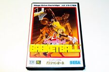 SUPER REAL BASKETBALL  - SEGA MEGADRIVE - JAPAN - COMPLETE