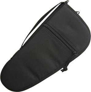 "Zip Up 14"" Pistol Case Black Cordura Construction + Soft Lining ac187"