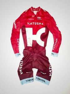 KUTUSHA team cycling spandex race skinsuit. Lycra mens padded suit