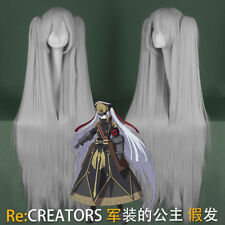 Re:CREATORS Granblue Fantasy Altair Anime Costume Cosplay Wig +Cap +Track Number