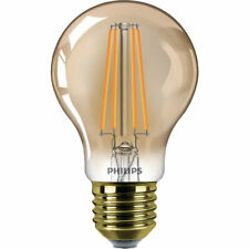 Philips Classic LED Lampe 8W E27 extra warmweiss A60 gold Filament  dimmbar ...