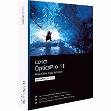 DxO Labs OpticsPro 11 Essential Edition Photo Enhancing Software DVD - 100420