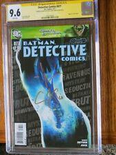 CGC 9.6 Signature Series / Detective Comics #877/2011