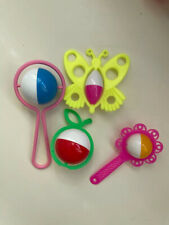 A classic set of rattles for children.