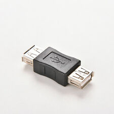 USB 2.0 Type A Female to Female Adapter Coupler Gender Changer Connector fy