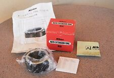 Nikon PK-13 AI close up macro extension tube ring in box Pk13 for 55mm micro 1:1